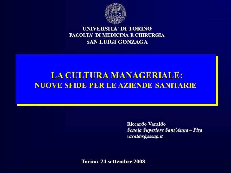 COME CAMBIANO LE STRUTTURE OSPEDALIERE IN ITALIA (1997-2006) 19972006 STRUTTURE PUBBLICHE DI RICOVERO 942 654 19972006 POSTI LETTO 19972006 19972006 MEDICIINFERMIERI 294.956 211.725 97.830 105.860 252.163 265.444 Riccardo VaraldoScuola Superiore SantAnna11 FONTE: ANNUARIO STATISTICO SSN - 30,6%- 28,2%+ 8,2% - 37,1% - 27,7% ITALIA PIEMONTE + 12,3%+ 20,5% 50.000