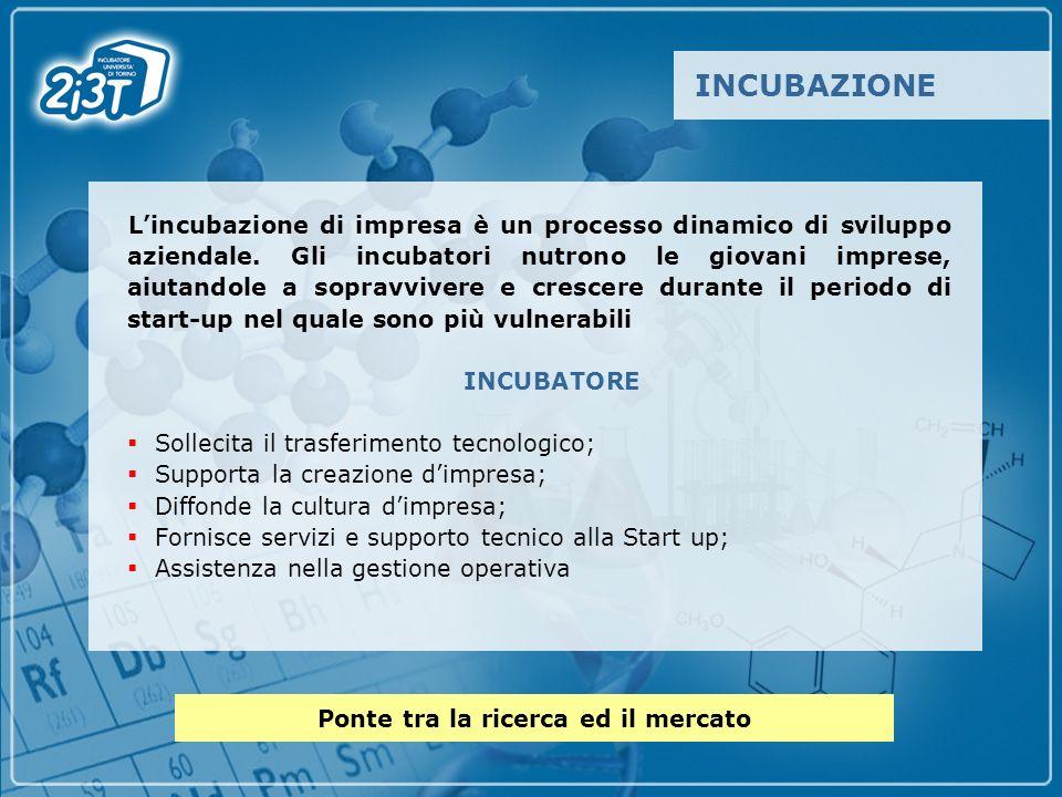 Lincubazione di impresa è un processo dinamico di sviluppo aziendale.