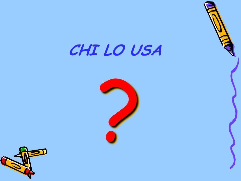 CHI LO USA ? ?