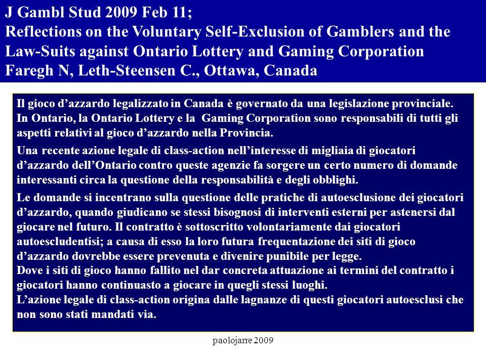 paolojarre 2009 Am J Addict.2009 May-Jun;18(3):243-7.