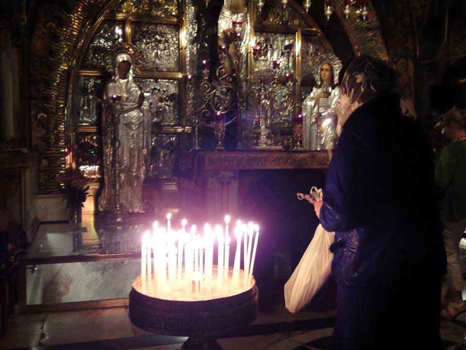 Gerusalemme Calvario Palestina Gesù è crocifisso e muore sul calvario Giudea
