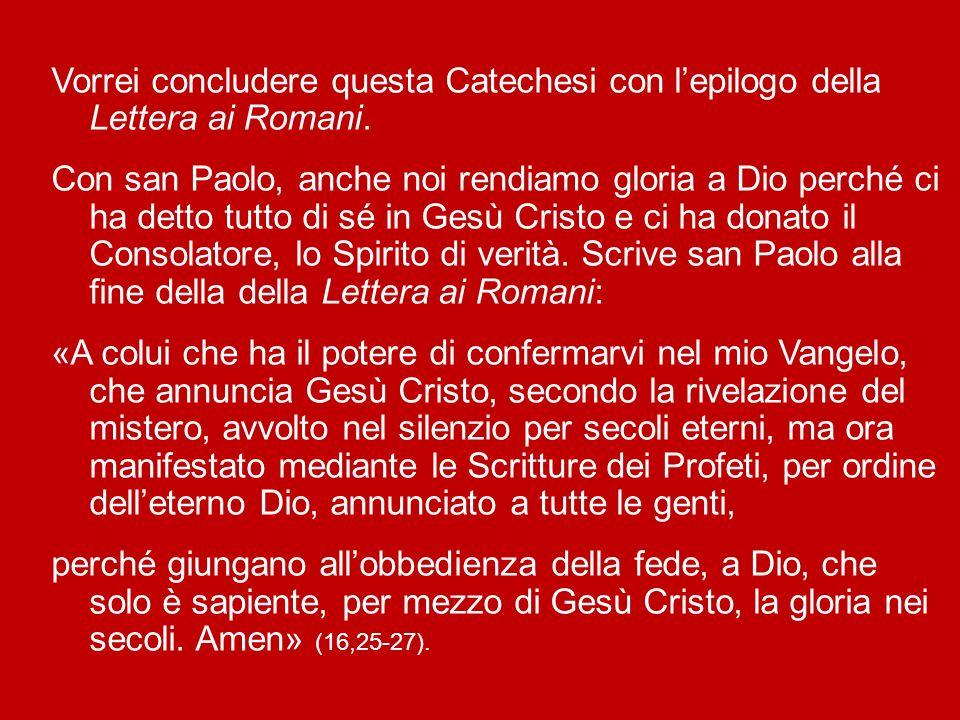 Noi diventiamo capaci di conservare quello che san Paolo chiama «il mistero della fede» in una coscienza pura (cfr 1 Tm 3,9). La preghiera come modo d