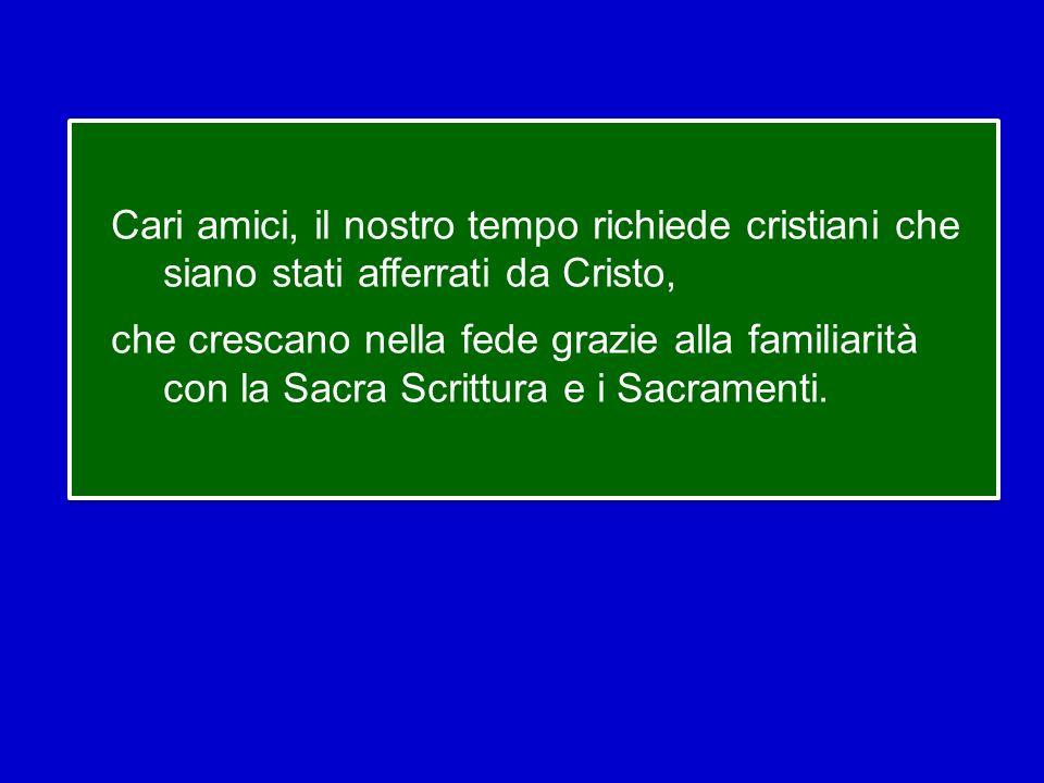 Credere è affidarsi in tutta libertà e con gioia al disegno provvidenziale di Dio sulla storia, come fece il patriarca Abramo, come fece Maria di Naza