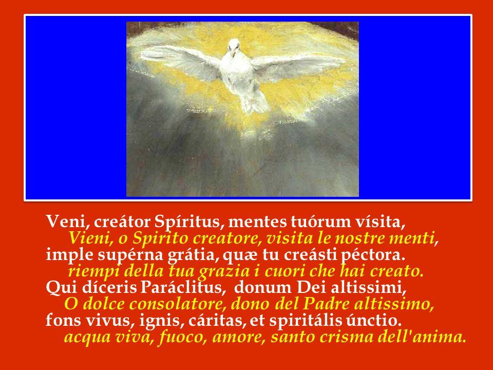Invochiamo pertanto lintercessione di Maria Santissima, perché ottenga alla Chiesa del nostro tempo di essere potentemente rafforzata dallo Spirito Santo.