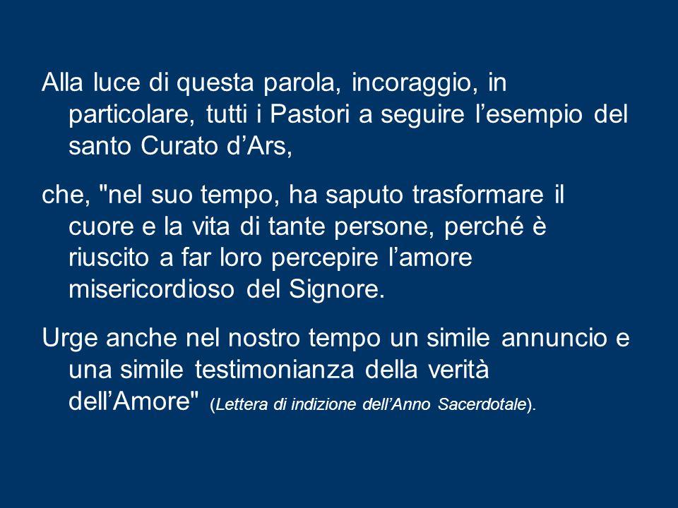 È questa la missione della Chiesa perennemente assistita dal Paraclito: portare a tutti il lieto annuncio, la gioiosa realtà dellAmore misericordioso