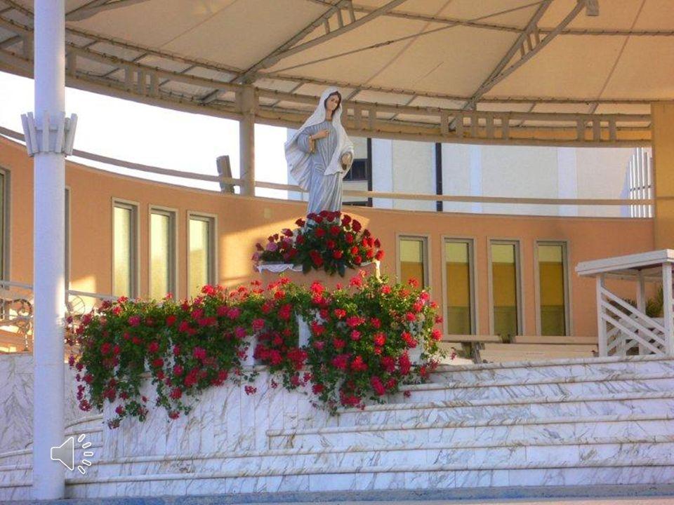 Medjugorie non reca solo la grazia di risanare i cuori feriti dal peccato, ma dona anche a tutti i cuori il coraggio di decidersi per Dio sullesempio di Maria.