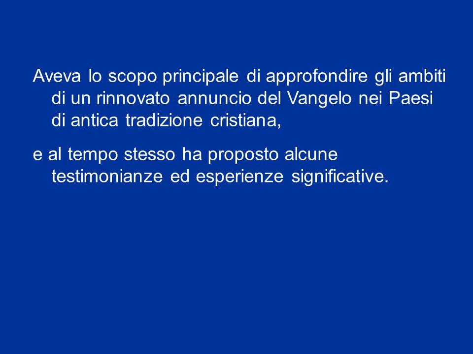 Liniziativa, organizzata dal Pontificio Consiglio per la Promozione della Nuova Evangelizzazione