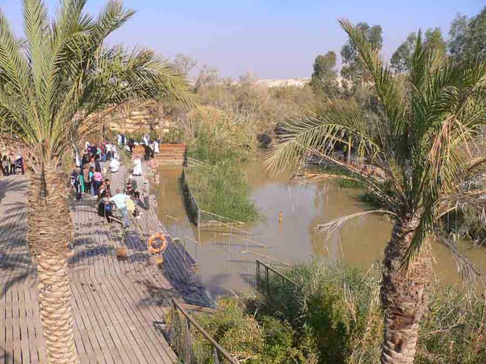 Betania Palestina Gesù è battezzato da giovanni nel giordano Deserto di Giuda