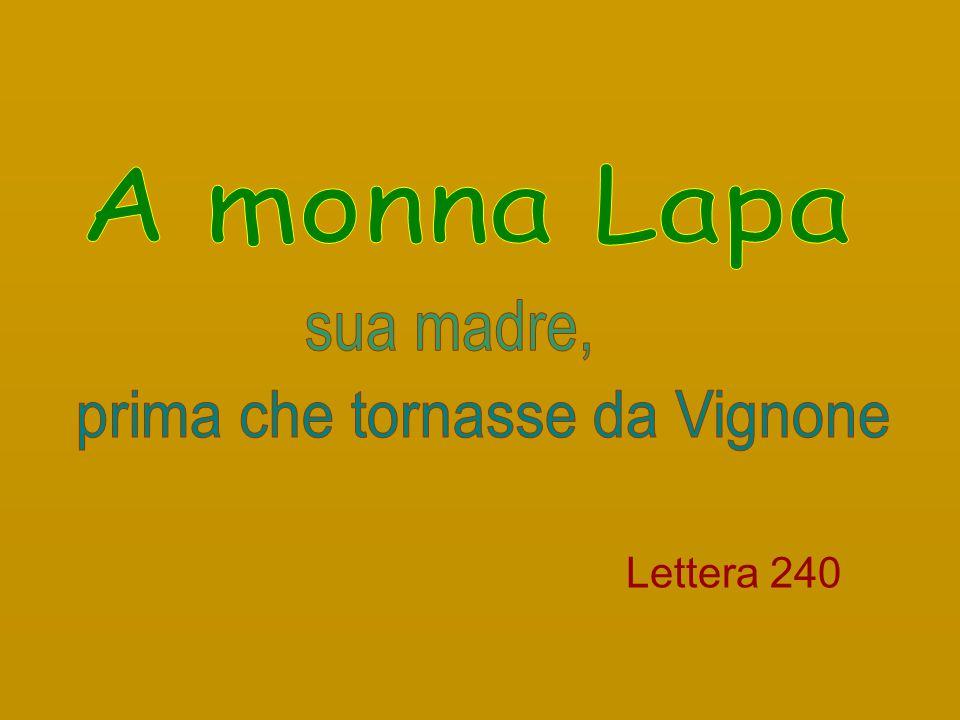 Lettera 240