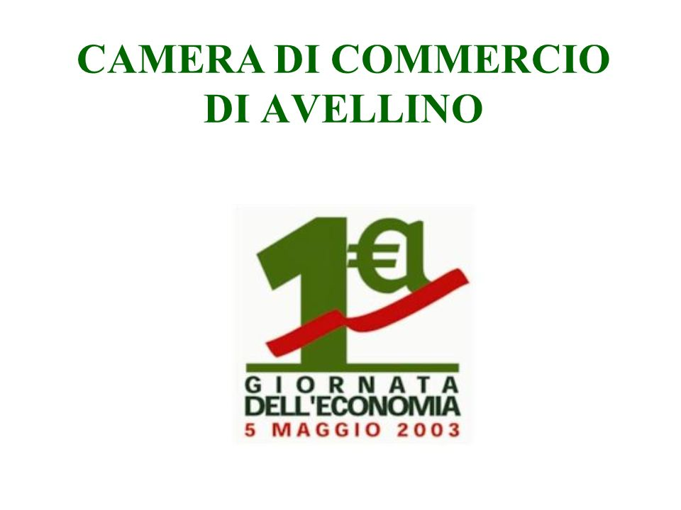 CAMERA DI COMMERCIO DI AVELLINO