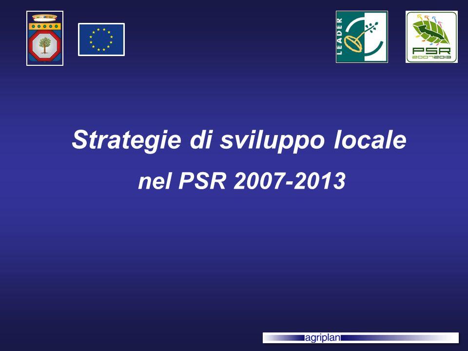 Strategie di sviluppo locale nel PSR 2007-2013