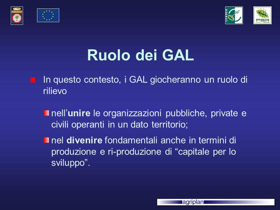 Obiettivi dellintervento Consolidare le modalità di approccio partecipativo su scala locale, per la definizione e limplementazione di strategie di sviluppo