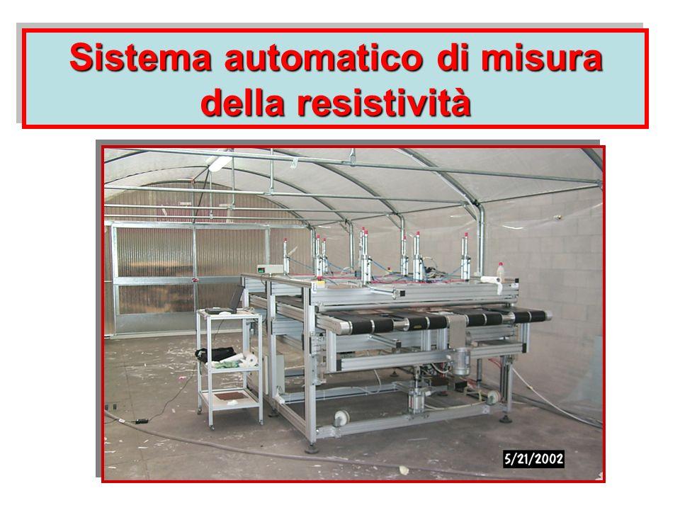Sistema automatico di misura della resistività