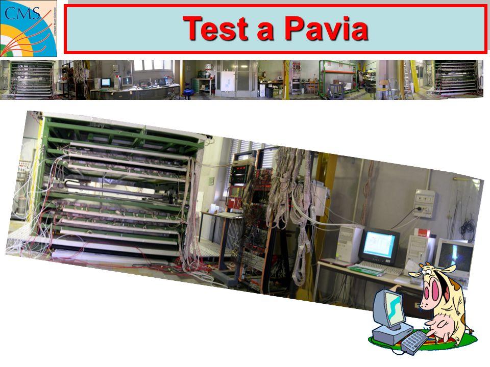 Test a Pavia
