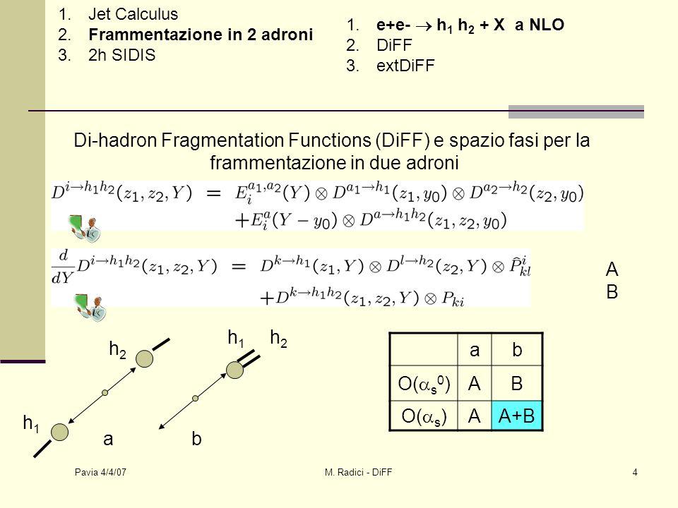 Pavia 4/4/07 M.Radici - DiFF5 A,B indistinguibili in zona kin.