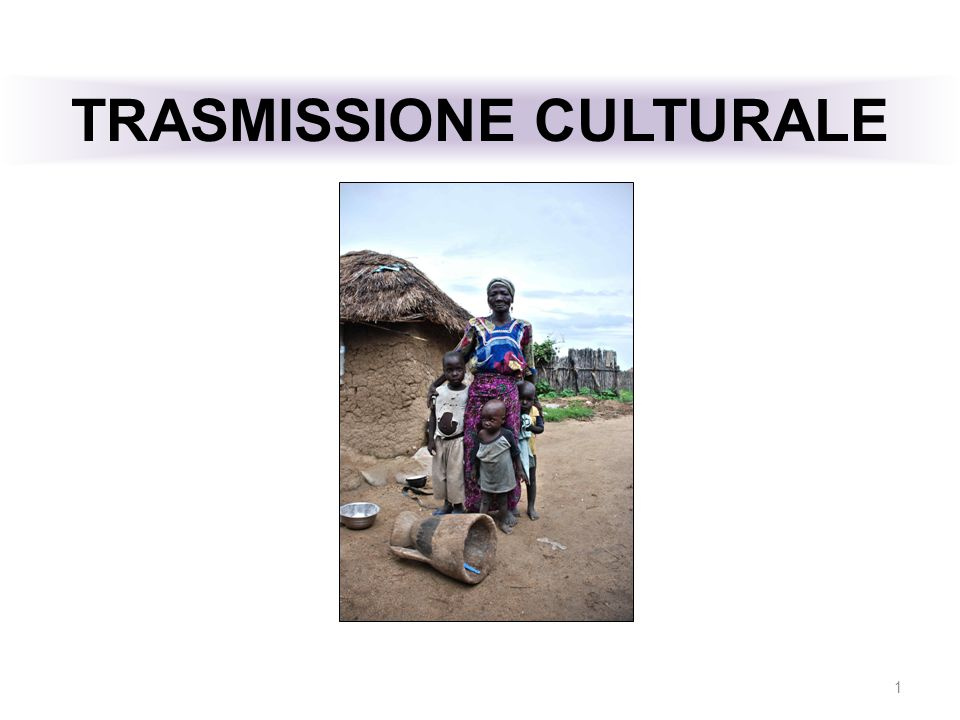 TRASMISSIONE CULTURALE 1