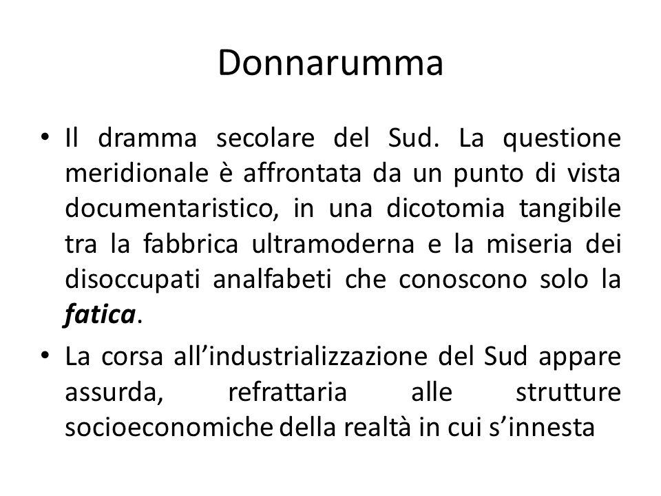Donnarumma Il dramma secolare del Sud.
