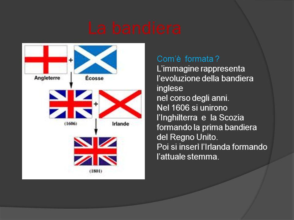 La bandiera Comè formata .