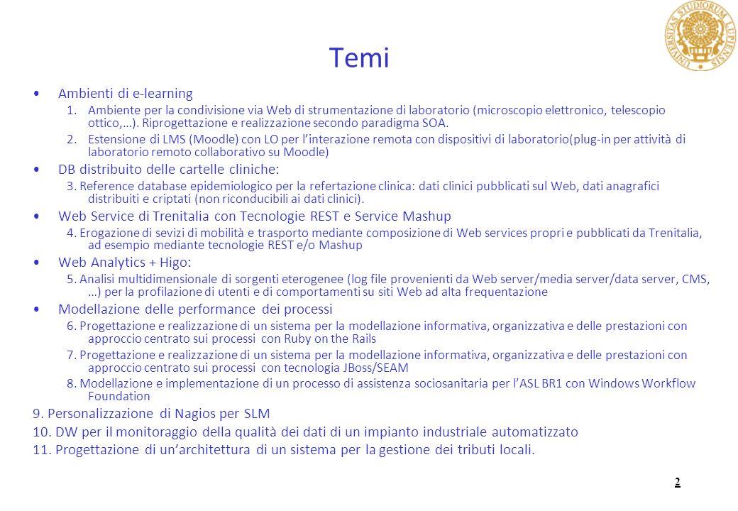 3 Svolgimento Lesame si compone di due assignment di gruppo e di una discussione individuale sui temi affrontati durante il corso !!!.