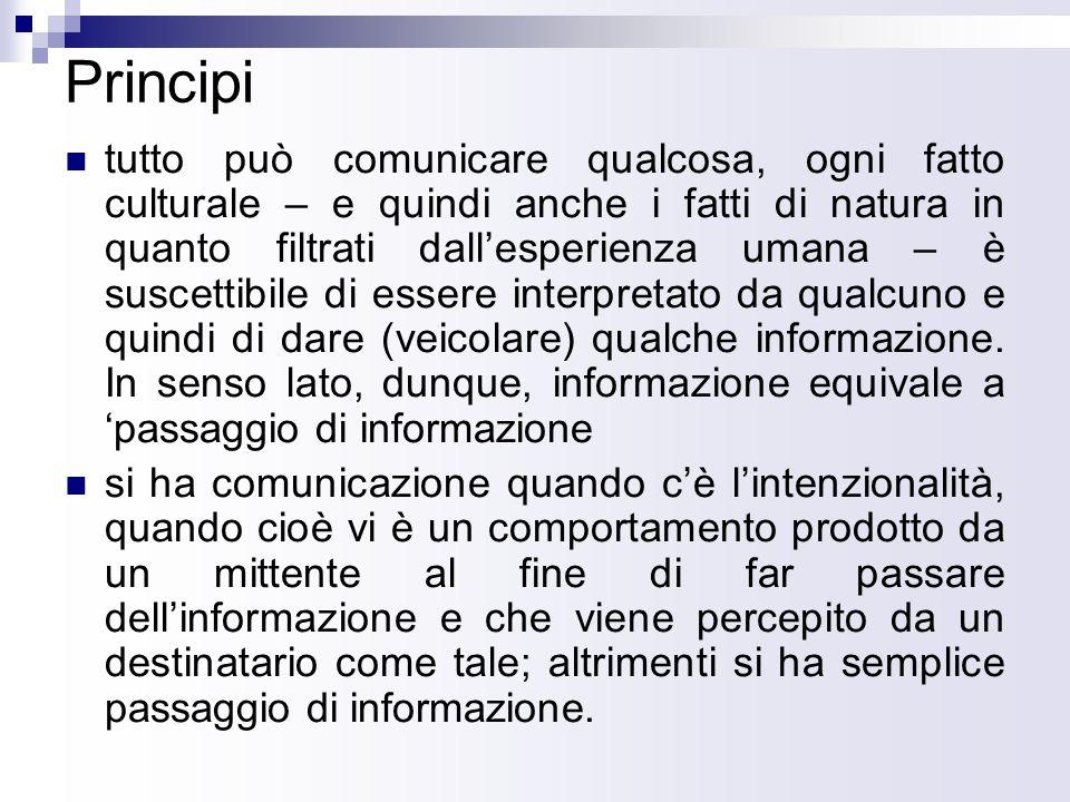 Jakobson: lo schema La comunicazione secondo Jakobson è un processo lineare; in esso, però, viene riconosciuta limportanza del contesto.