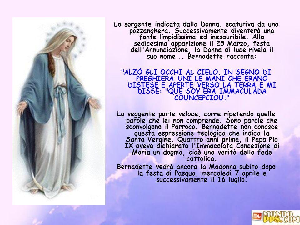 Maria, il più bel dono di Dio all umanità.