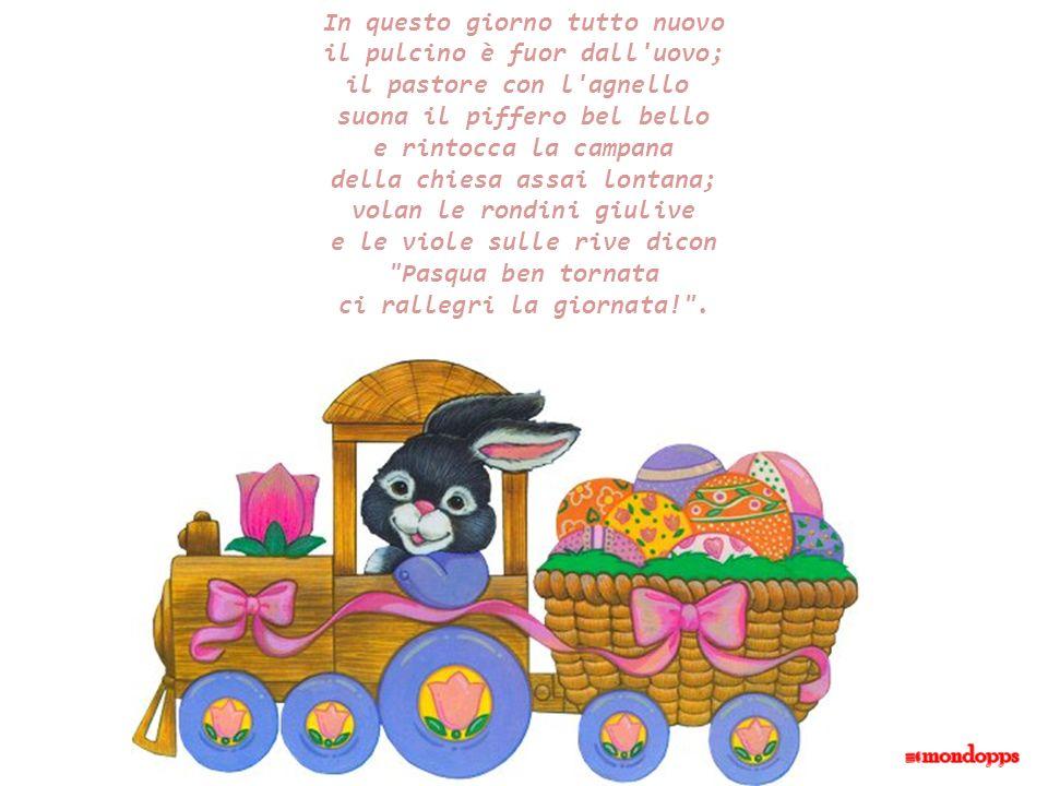 Pasqua & filastrocche Pasqua è la festa di chi crede nella bellezza dei piccoli gesti e di chi sa che la vita è capace di stupire oltre ogni aspettati