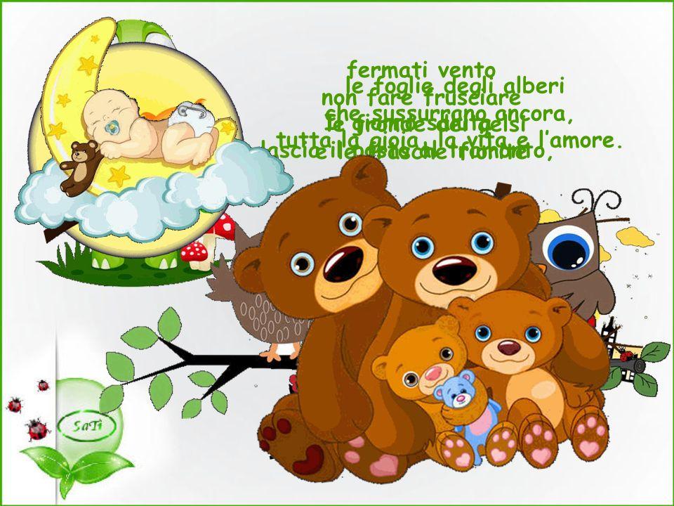 Sogni belli a tutti i bambini e a chi è rimasto bambino nel cuore!