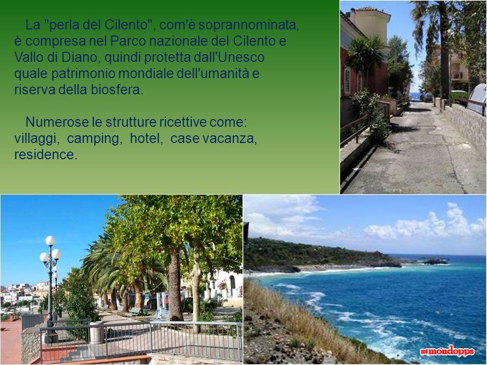 Oggi, Marina di Camerota è una rinomata località turistica balneare, sia per la qualità delle acque che per il contesto naturale essendo immersa fra l
