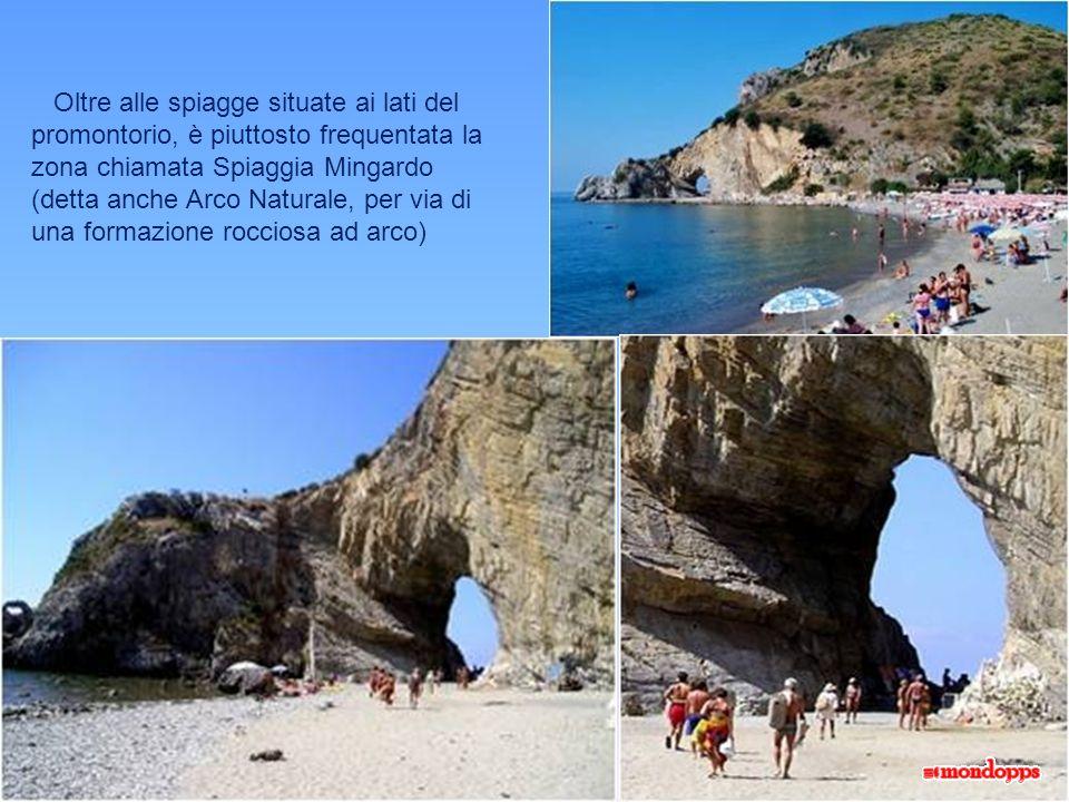 Lunghe spiagge sabbiose, o raggiungibili solo dal mare, sono unulteriore richiamo per il turismo balneare.
