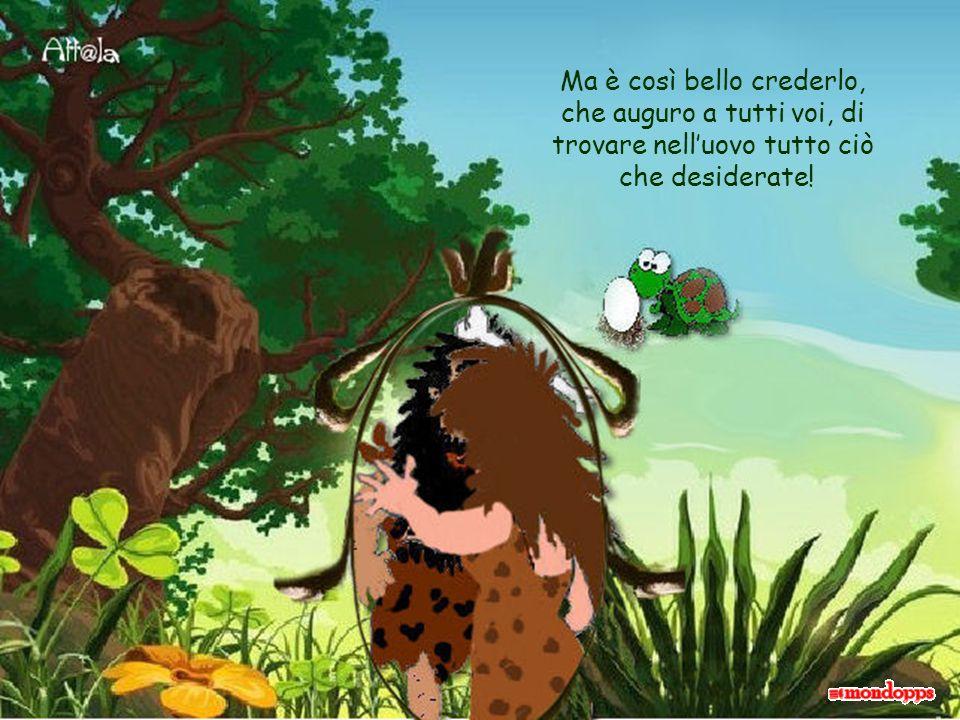 le creature primitive ebbero la sorpresa di trovarvi anche lamore!