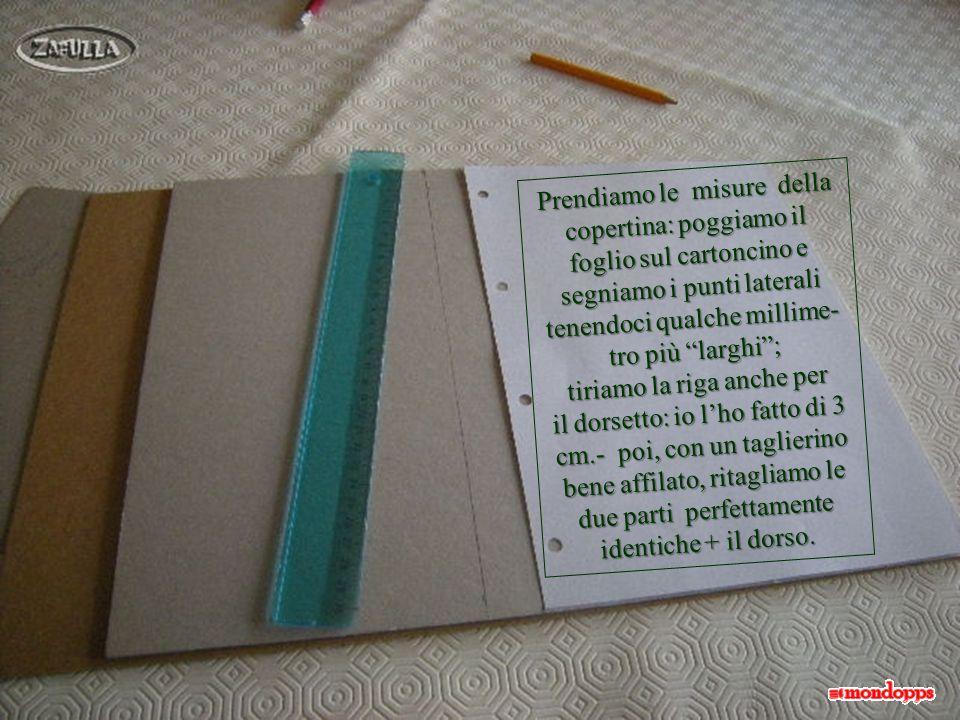 OCCORRENTE: tutto reperibile nelle cartolerie o anche via internet, per corrispondenza.