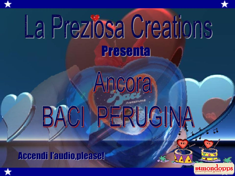 Accendi laudio,please! Presenta