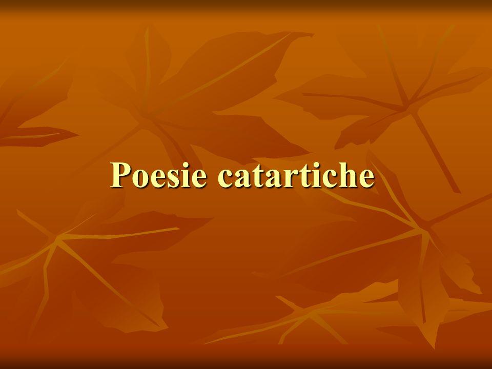 Poesie catartiche