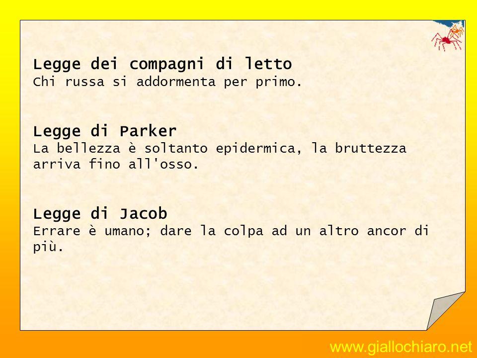 www.giallochiaro.net Principio di Tilli sull organizzazione dell ufficio - Se lo archivi, saprai dov è ma non ne avrai bisogno.