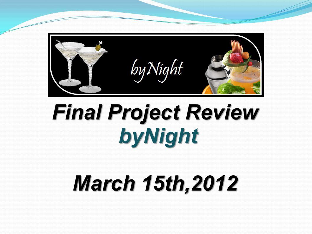 Project Plan (VIII)