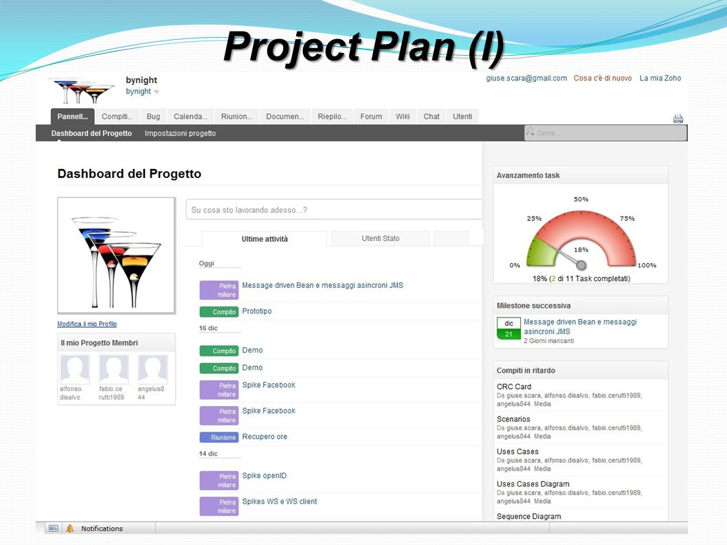 Project Plan (I)