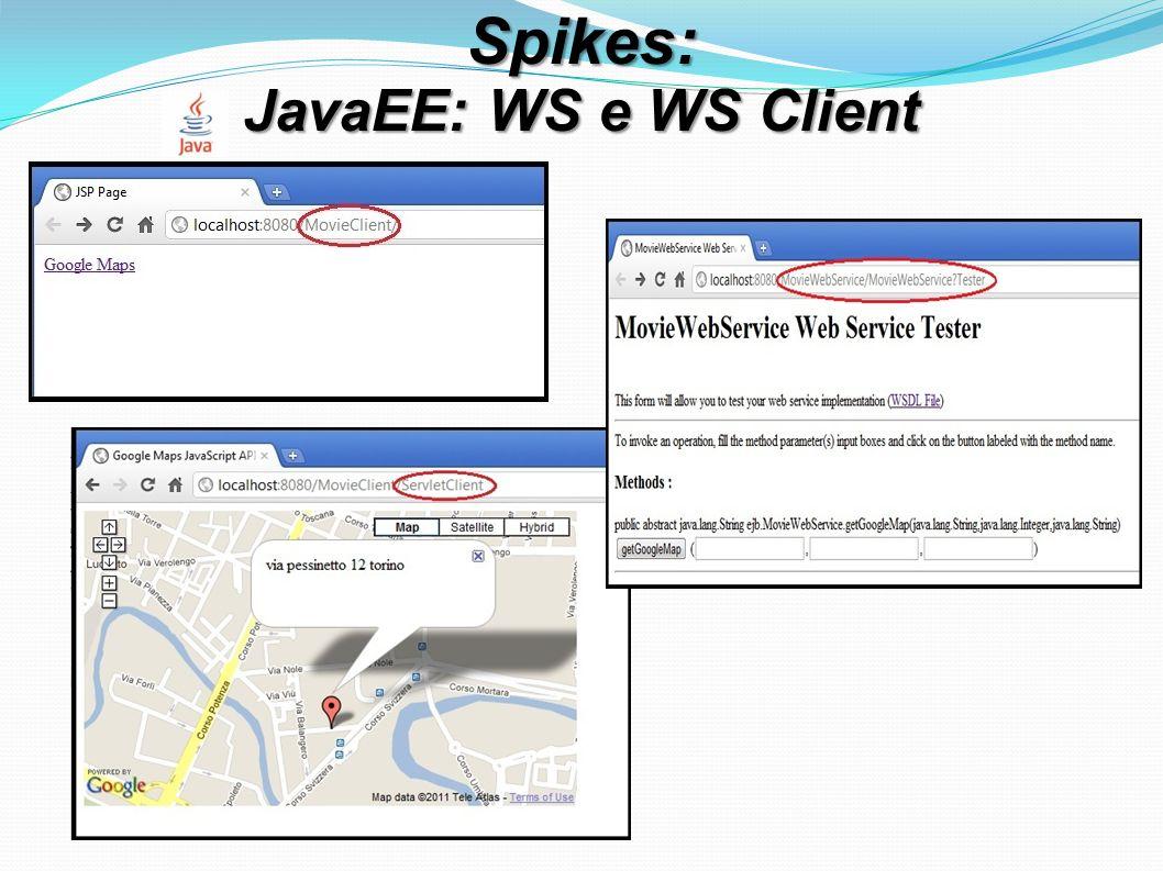 Spikes: JavaEE: WS e WS Client