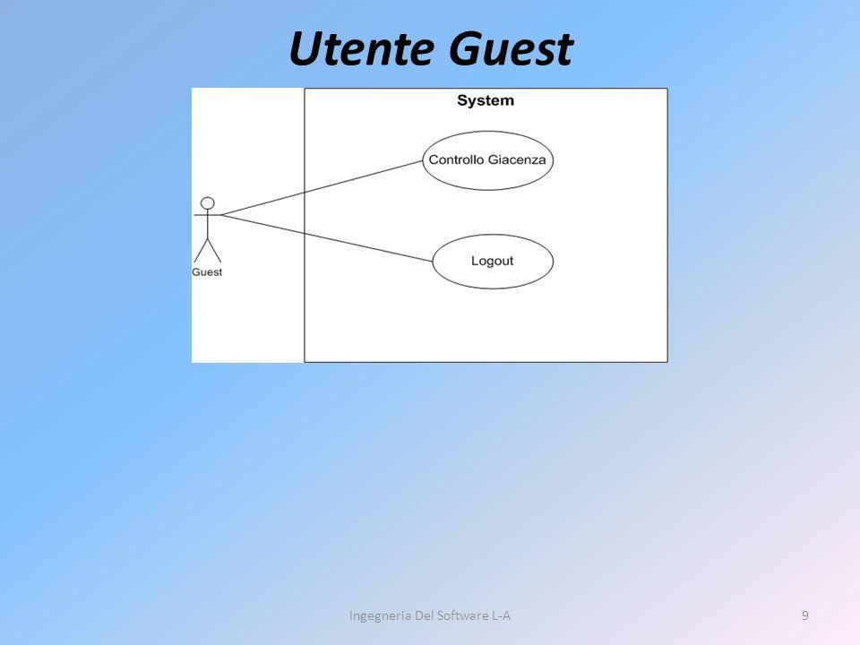 Utente Guest Ingegneria Del Software L-A9