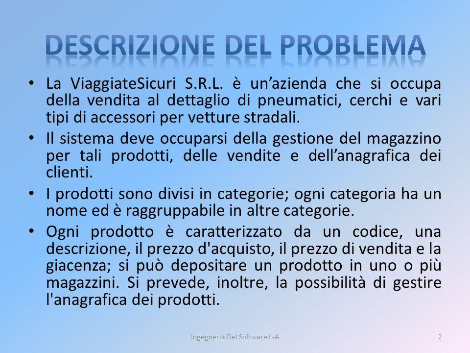 Ingegneria Del Software L-A13