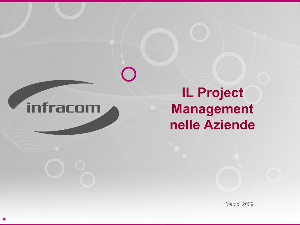 IL Project Management nelle Aziende Marzo 2009