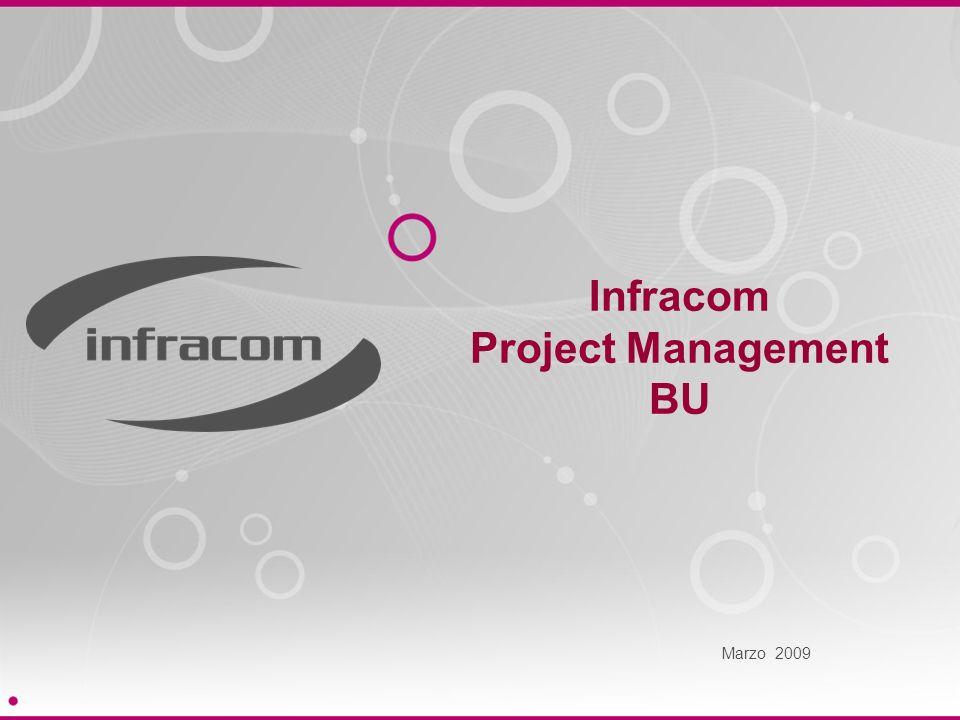 Infracom Project Management BU Marzo 2009