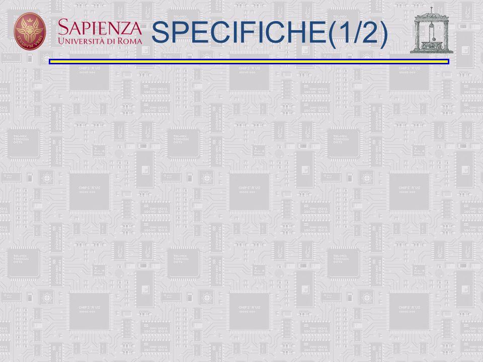 SPECIFICHE(1/2)