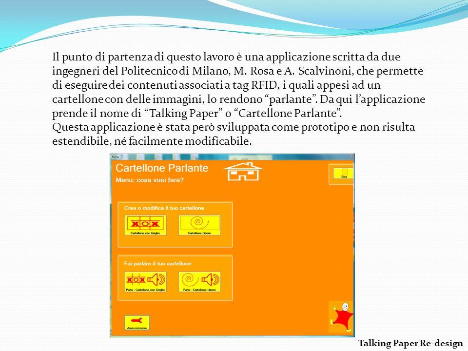 Il punto di partenza di questo lavoro è una applicazione scritta da due ingegneri del Politecnico di Milano, M.
