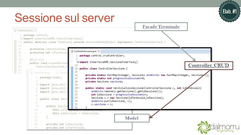 Sessione sul server