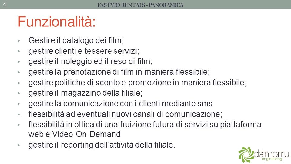 UCRicercaFilm - Flow of events 1.Il Cliente arriva al terminale FastVid 2.