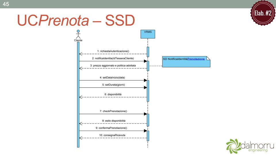 UCPrenota – SSD 45