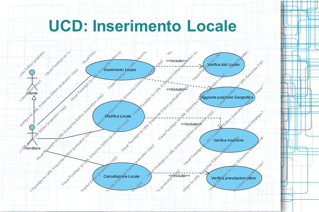 UCD: Inserimento Locale