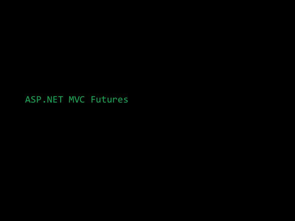 ASP.NET MVC Futures