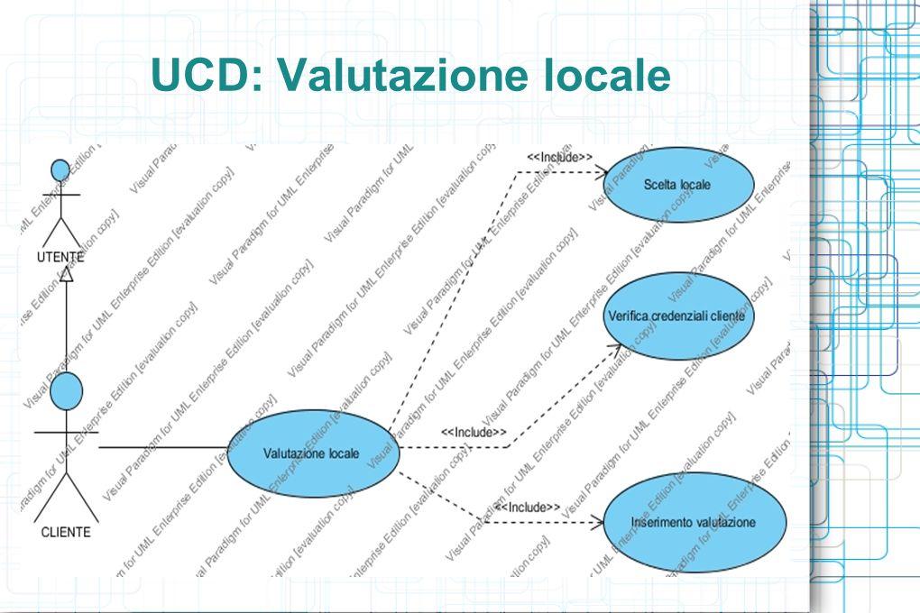 UCD: Valutazione locale