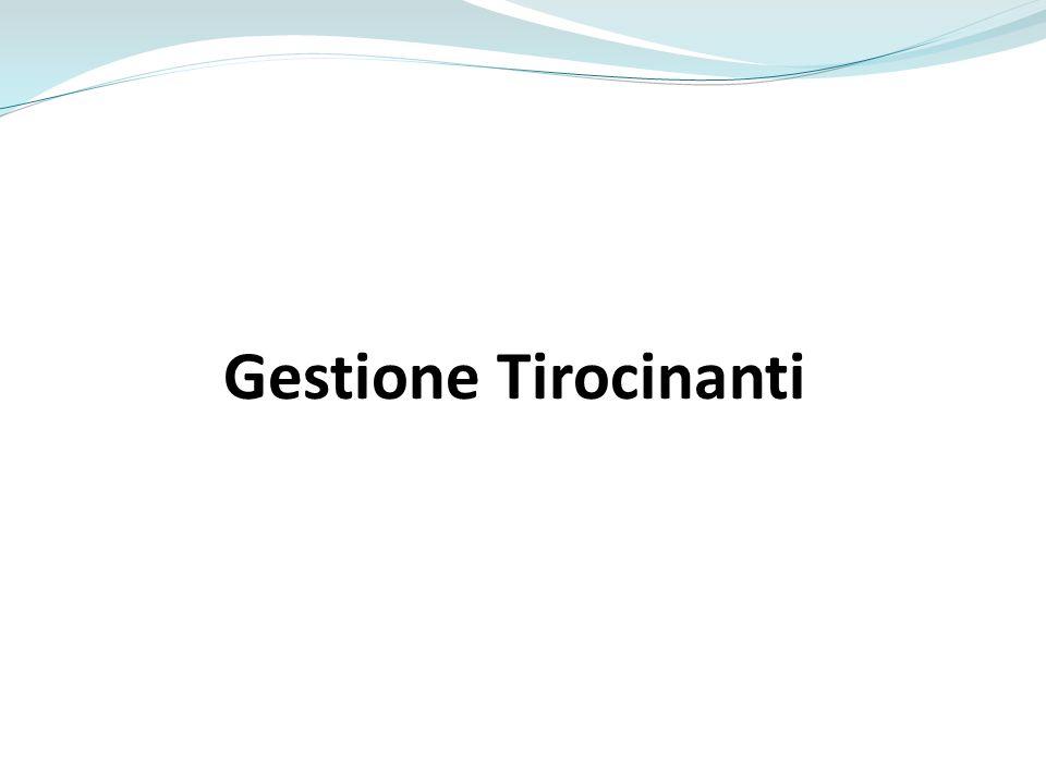 Gestione Tirocinanti